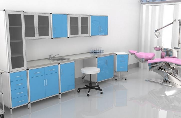 - Meble medyczne. Meble do szpitali. Meble do przychodni. W skład zestawu mebli wchodzi: szafki, szafy, stolik, biurko, aneks kuchenny, krzesła, fotele
