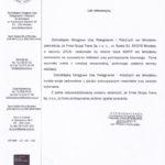 Dolnośląska Okręgowa Izba Pielęgniarek i Położnych we Wrocławiu zaświadcza, że firma Grupa Trams z Wrocławia w sierpniu 2015 realizowała na terenie biura DOIPiP zamówienie na wyposażenie biblioteki oraz pomieszczenia biurowego