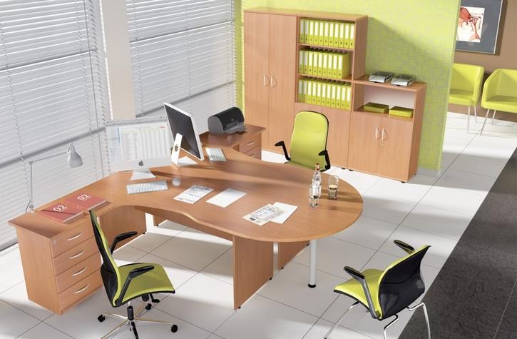- Zestaw mebli biurowych Classic jest doskonałym rozwiązaniem dla firm szukających biurek, foteli, kontenerów we Wrocławiu