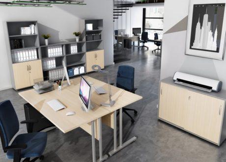 Meble gabinetowe salus to przykład naszej propozycji mebli biurowych dla wrocławskich przedsiębiorców. - Salus